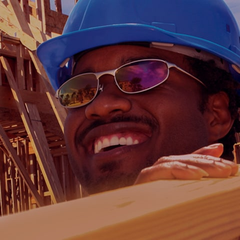 Construction man working